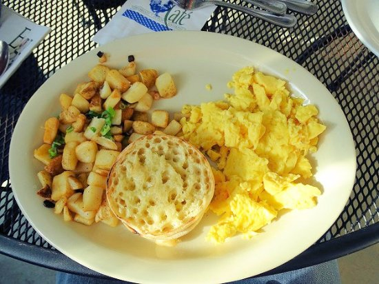 Johns Creek, GA: eggs, potatoes, english muffins