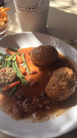 Malmedy, بلجيكا: Lunch is served
