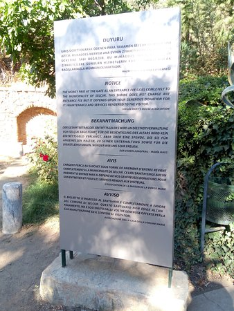 Meryemana (The Virgin Mary's House): Multilingual guidelines