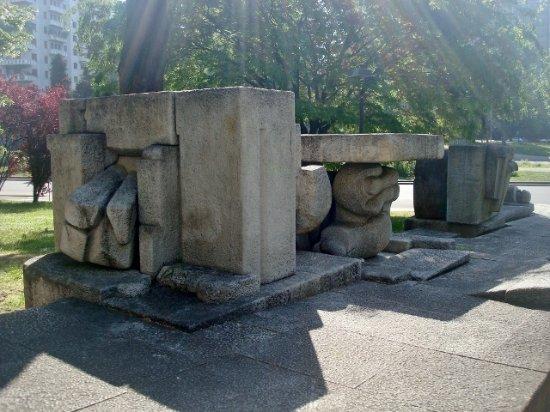 Monumento a Mazzini: Particolare del monumento