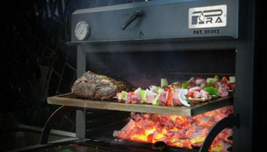 Racine, WI: charcoal oven