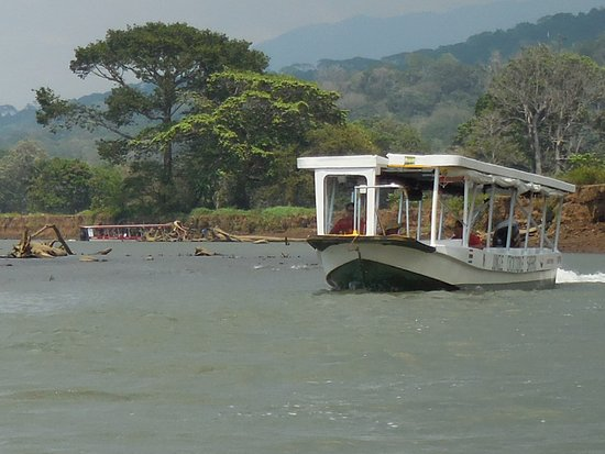 Tarcoles, Costa Rica: The scenery along the river