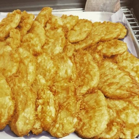 Como, Australië: potato cakes