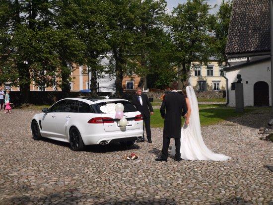 Porvoo, Finland: Свадьба
