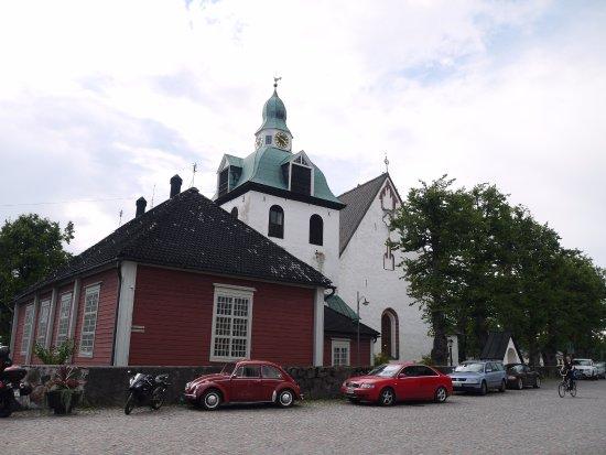 Porvoo, Finland: Вид с площади