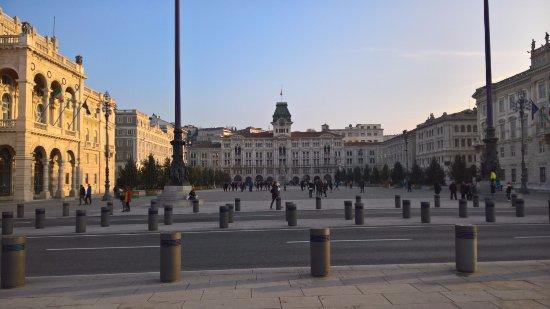 Province of Trieste, Italië: la Piazza