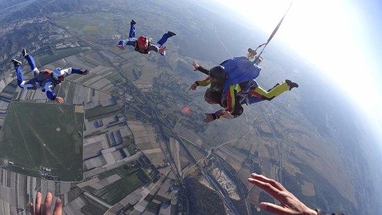 parachutisme le luc