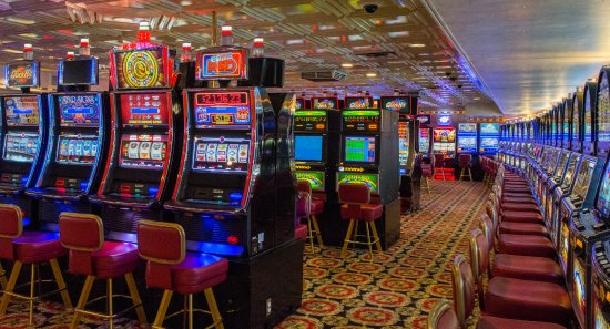 Little River, Carolina del Sur: Some of Ship I Slot Machines