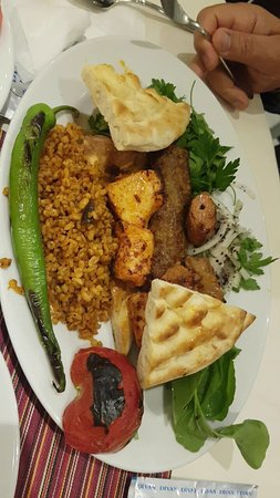 Divan kebap restaurant yalova restaurant reviews for Divan kebab menu