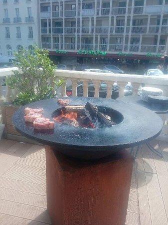 plancha barbecue photo de la fl che d 39 argent royat tripadvisor. Black Bedroom Furniture Sets. Home Design Ideas