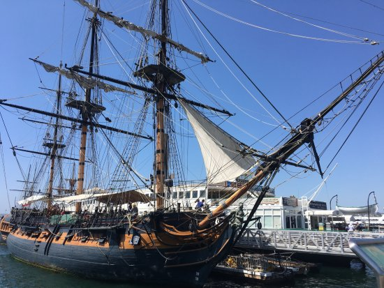 Star of India at Maritime Museum of San Diego