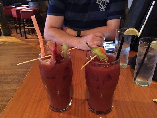 Glen Burnie, MD : Bloody Marys - meat lovers & veggie lovers