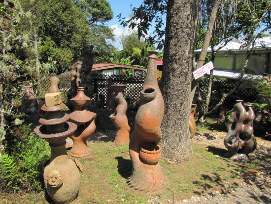 Coromandel, Νέα Ζηλανδία: Sculpture garden