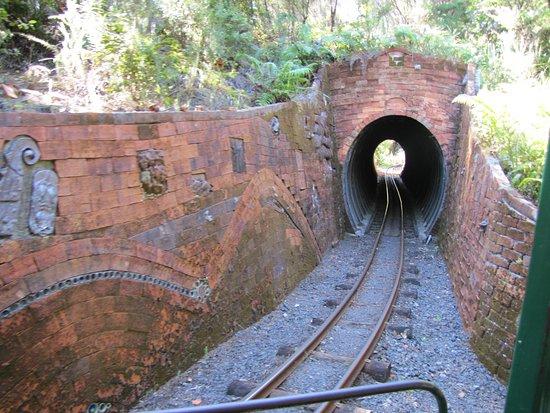 Coromandel, New Zealand: One of the tunnels