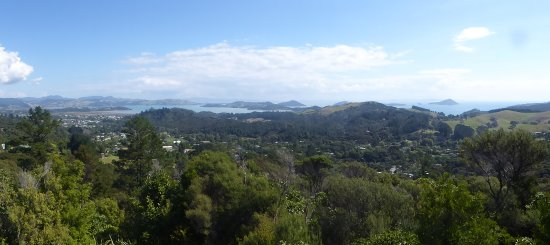 Coromandel, New Zealand: A view from Eyeful Tower