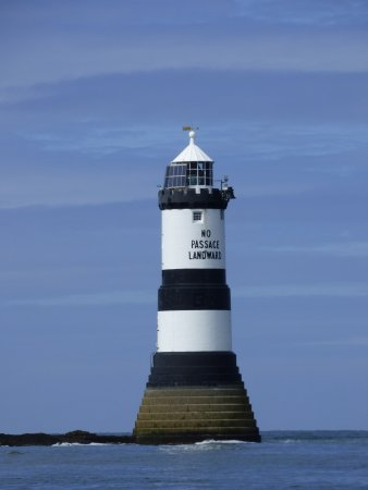 Beaumaris, UK : Penmon lighthouse