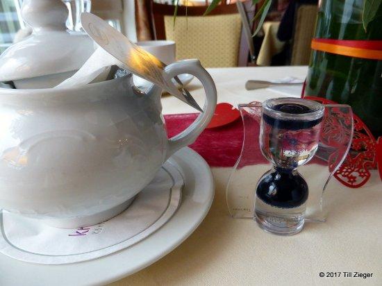 Bad Teinach-Zavelstein, Alemania: 3-Minuten-Uhr für den Tee