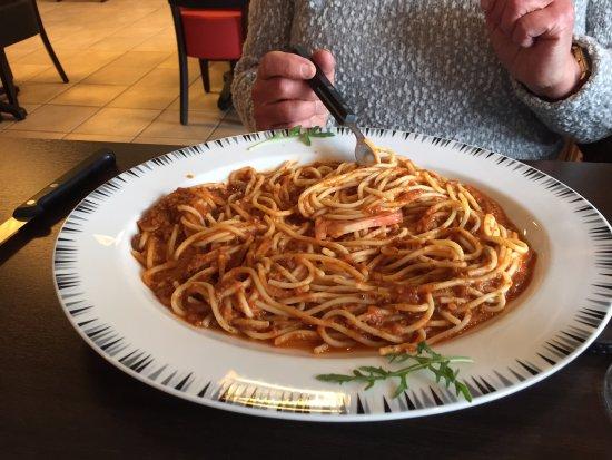 Hals, Dinamarca: Spaghetti Bolognese