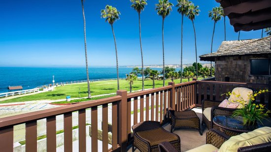 Patio and View from Two Bedroom Ocean View Premium Suite
