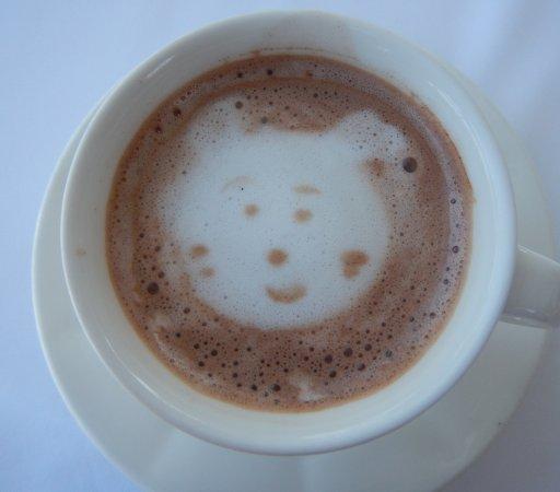 Delfino Blu Boutique Hotel: Chocolat chaud du matin préparé avec soin!
