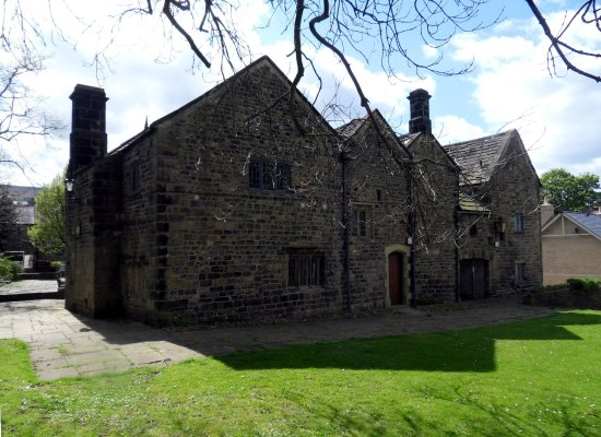 North front of the Manor House, Ilkley