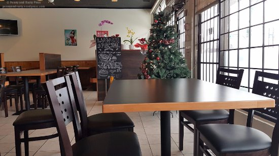 Burnaby, Canada: Interior of restaurant