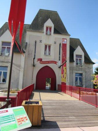 Parc des Mini-Chateaux: L'entrée