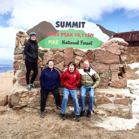 Pikes Peak: We made it to the top!