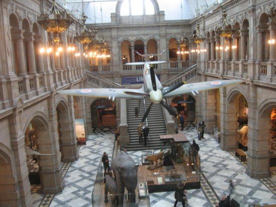 Kelvingrove Art Gallery and Museum: West Court - Kelvingrove , Glasgow