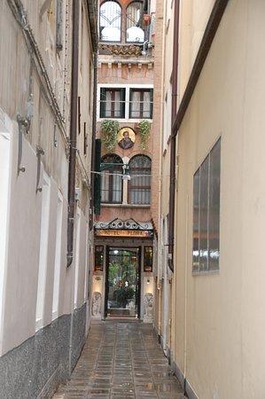Hotel Flora: l'entrée