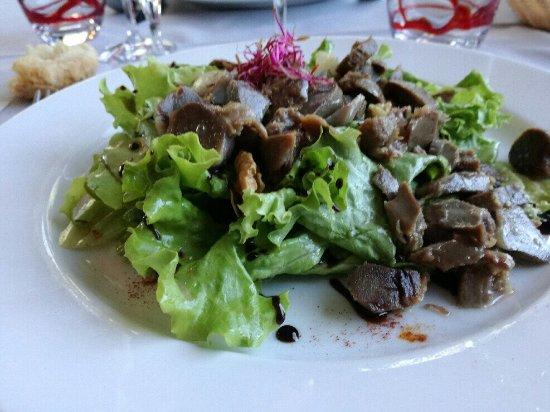 Vic-la-Gardiole, France : Salade de gésiers