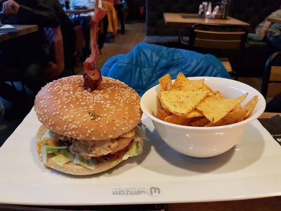 Sölden, Österrike: Giggijoch Burger