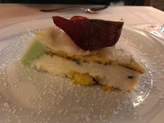 Osteria La Gensola: Cassata alla siciliana