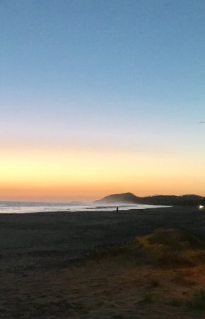 Popoyo, Nicaragua: Outdoors sunset breakfast