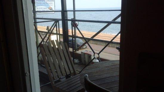 Sandgate, UK: Balcony