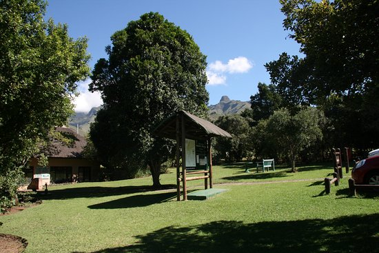 uKhahlamba-Drakensberg Park, South Africa: Reception area