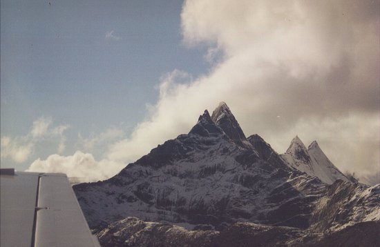 Bettles, อลาสกา: Float plane rides from the Lodge--Arrigitch Peaks