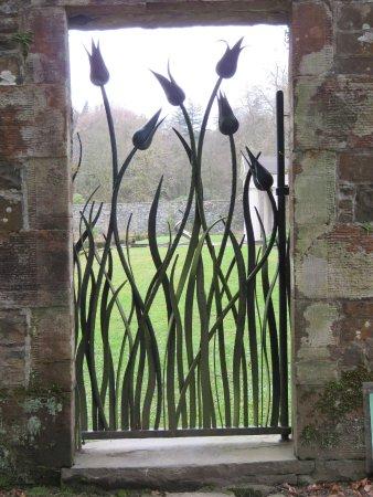 Dumfries, UK: stylised gates