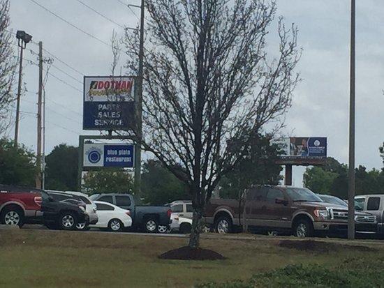 Dothan, Алабама: Blue Plate Restaurant