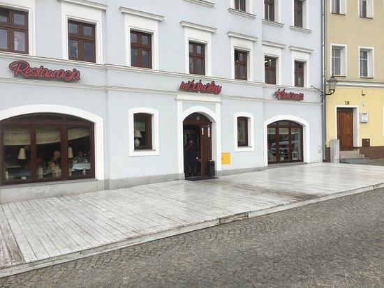 Zgorzelec, Polen: Von Außen am schlechtes Wetter nichts besonderes. Man sollte aber sich rein trauen:)