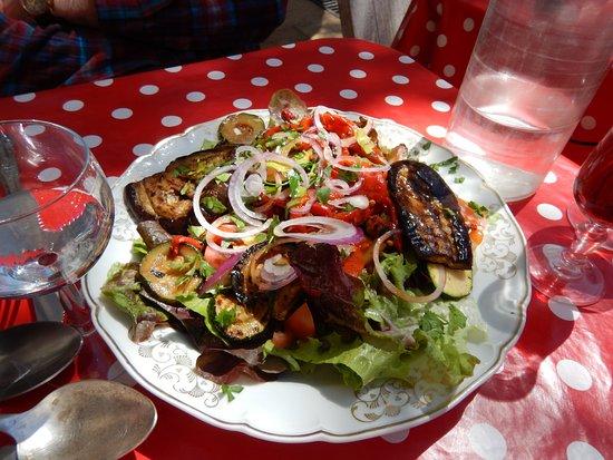 Lunel, Frankrig: salade