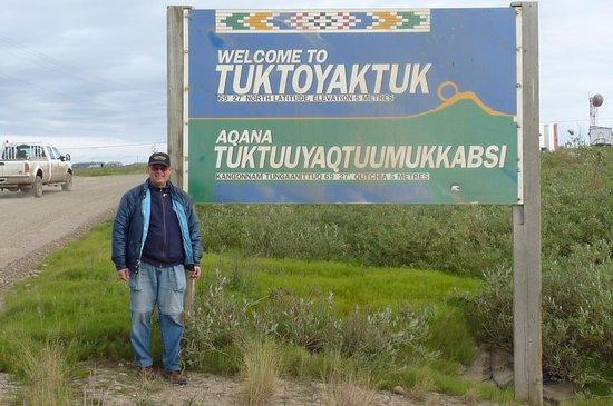 Tuktoyaktuk, แคนาดา: welcome to Tuk
