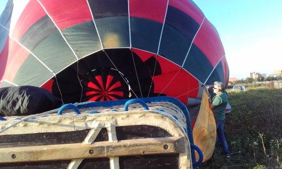 Illes Balears Ballooning: Ayudando a Hincharlo