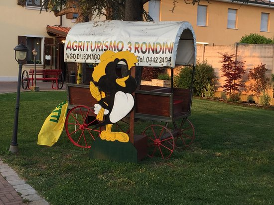 Legnago, Italia: Agriturismo Tre Rondini