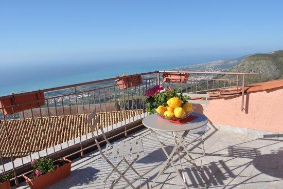 San Marco D'Alunzio, إيطاليا: panorami dai nostri terrazzi