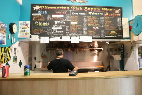 Porirua, Nya Zeeland: Plimmerton - Fish Supply 1