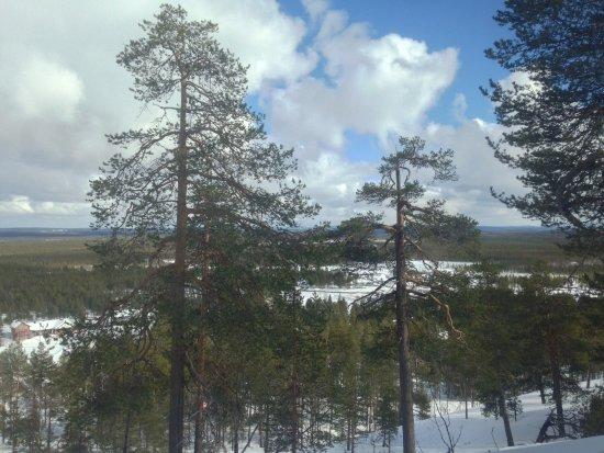 Pyhatunturi, Finnland: Room with a view