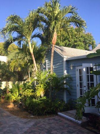Grandview Gardens Bed & Breakfast: Außenbereich Ferienwohnung