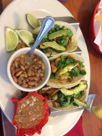 Pampa, TX: Shrimp Tacos