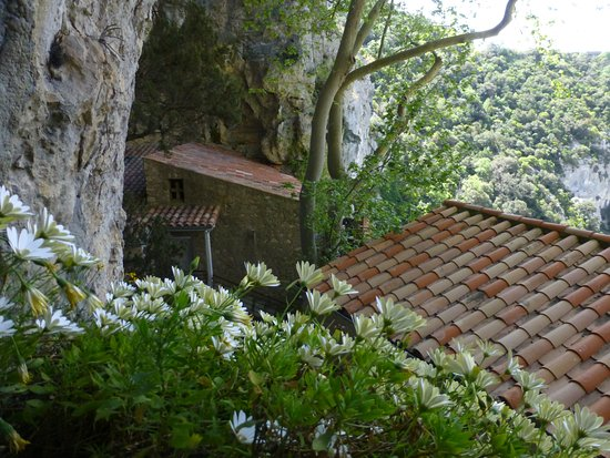 Gorges de Galamus: la casa